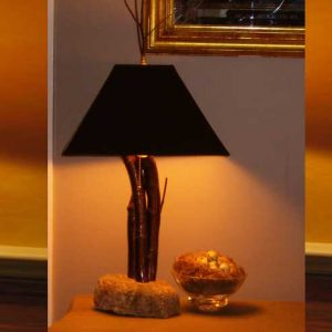 Pin Cherry Lamp