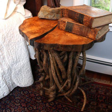 Bittersweet side table - side view