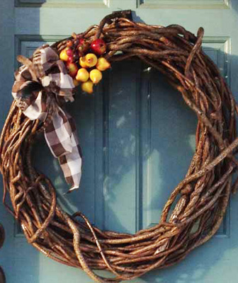 Bittersweet Vine Wreaths that save forests