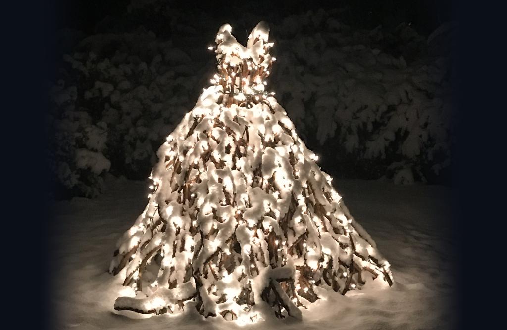 Bittersweet winter wedding dress